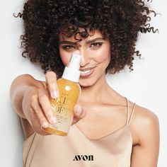Skin So Soft Radiant Glow Illuminating Dry Oil Mist Glisten all over. The luxurious mist illuminates your skin leaving a soft shimmer while enhancing its softness. Avon Skin So Soft, Oil Shop, Fuller Hair, Facial Oil, Facial Masks, Makeup To Buy, Tinted Moisturizer, Body Care, Face Care