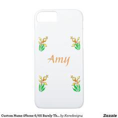 Custom Name iPhone 6/6S Barely There Case