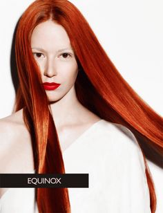 Portfolio: No Inhibition Hair Color  Beautiful bright red hair color from the No Inhibition portfolio