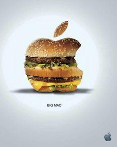 #Co-branding Apple & Mac Do ?  (#Humour)    :))