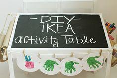 DIY Ikea table
