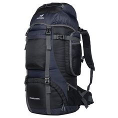 Coreal Ourdoor Travel Hiking Backpack -- You can get more details here(This is an affiliate link and I receive a commission for the sales) Hiking Tips, Camping And Hiking, Hiking Gear, Camping Gear, Rucksack Backpack, Black Backpack, Travel Backpack, Beach Accessories, Travel Accessories