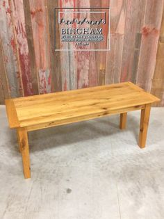 This reclaimed farmhouse style dining table features a thinner top than most, but check out that great grain and color!