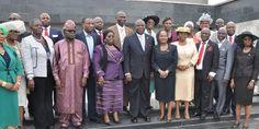 Pictures of newly sworn-in 19 Permanent secretaries of Lagos - Nigerian Headlines