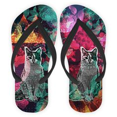 Chinelo Cosmic Kitty de @jurumple | Colab55
