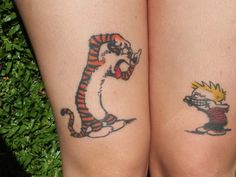 calvin and hobbes tattoo - Google Search