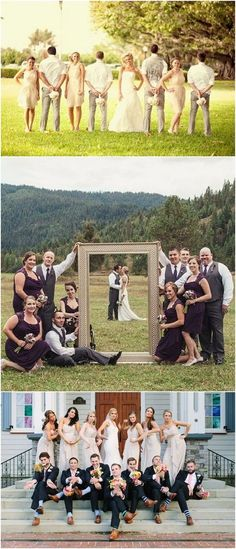 21 Creative Wedding Photo Ideas with Bridesmaids and Groomsmen, 21 Creative Wedding Photo Ideas with Bridesmaids and Groomsmen Funny wedding party photo ideas with bridesmaids and groomsmen / www. Wedding Photography Poses, Wedding Poses, Photography Ideas, Wedding Ideas, Bridal Poses, Toddler Photography, Post Wedding, Wedding Ceremony, Funny Wedding Photos