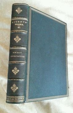 Great Expectations Charles Dickens Leather Late 1800's Antique Chapman & Hall in Books | eBay