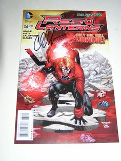 NEW The Red Lantern 34 SIGNED by Charles Soule New York Comic Con 2014