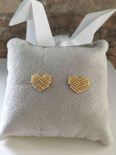 Loom Bracelet Patterns, Seed Bead Patterns, Bead Loom Bracelets, Beaded Jewelry Patterns, Beading Patterns, Seed Bead Jewelry, Bead Jewellery, Seed Bead Earrings, Beaded Earrings