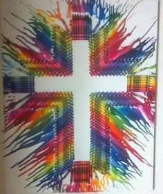 My next crayon art project!