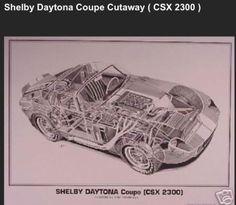 Shelby-Daytona-Coupe-CSX-2300-Cutaway-Artist-Shin-Yoshikawa-Car-Poster