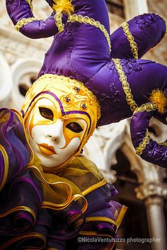 Carnevale Venezia 2014-75 (Copia) by Nicola Venturuzzo, via Flickr