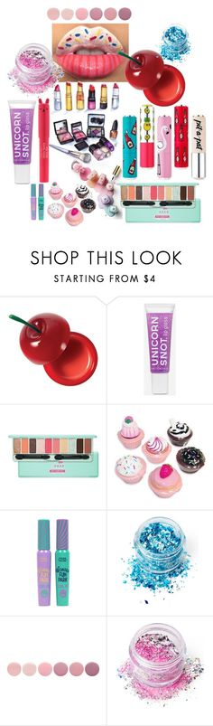 """maquillaje"" by luchi12345678910love on Polyvore featuring Belleza, Etude House, Charlotte Russe, In Your Dreams, TONYMOLY y Deborah Lippmann"
