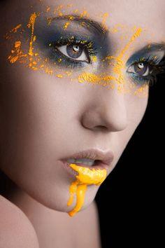 Güzel ve renkli resimler Animasyon: Sarı