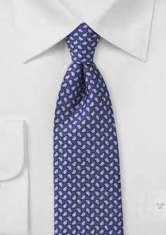 Handprint Silk Paisley Tie in Blue and Pink - Take a tour of the changing leaves in this hand print silk paisley tie in blue and pink. The deep navy color, and simple paisley Paisley Tie, Paisley Pattern, Dark Blue Tie, Teal Suit, Tie Shop, Polka Dot Tie, Navy Color, Suit And Tie, Silk Ties