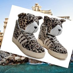 the best attitude 64258 a766a Adidas Originals Jeremy Scott Leopard Scarpa Unisex HOT SALE! HOT PRICE!  Jeremy Scott,