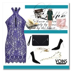 """""""✿✿✿Lace Lace Lace of YOINS ✿✿✿"""" by woman-1979 ❤ liked on Polyvore featuring Borghese and yoins"""