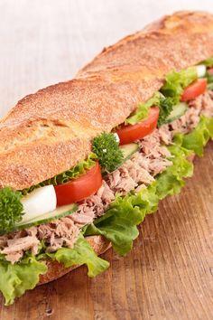 Italian Tuna Salad Sandwich (Weight Watchers)