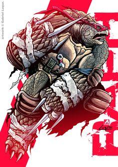 Ninja Turtles Art, Teenage Mutant Ninja Turtles, Tmnt Characters, Turtles Forever, Black Comics, Tmnt 2012, Gabriel, Gypsy Fashion, Dark Fashion