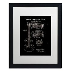 Trademark Fine Art 1955 Mccarty Gibson Guitar Patent Black by Claire Doherty, White Matte, Black Frame 16x20-Inch Trademark Fine Art http://www.amazon.com/dp/B016BOSTDS/ref=cm_sw_r_pi_dp_OZsjwb06NYMC7