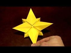 North Star - How to make an Origami North star - YouTube