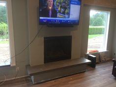 Fireplace Surrounds, Flat Screen, Tv, Flat Screen Display, Tvs, Fireplace Mantel, Television Set, Fireplaces