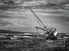 Floundering In The StormShipwreck photos are a favorite of mine and perhaps yours as well? The Caribbean has always been a top place to photograph shipwrecks and my latest favorite place is near Cahuita, Costa Rica. What a favorite photo image to frame as a reminder of your vacation here. It is available is full color, sepia and black and white. Norma Brandsberg nbrandsberg@gmail.com