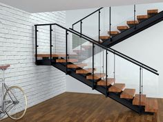 Best 17 Best Fabricated Stairs Images Stairs Wooden Steps Glass Stairs 640 x 480