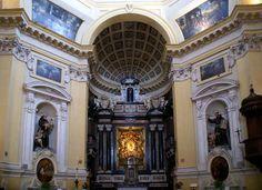 Torino, Monte dei Cappuccini, Chiesa Santa Maria del Monte, Hauptaltar (Church Santa Maria del Monte, main altar) | Flickr - Photo Sharing!