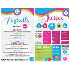 LAUNCHING TOMORROW!!!! Our brand new Juices & Yogtail menu is available as of tomorrow 7 days a week! Don't forget.... On Thursdays you can get any #yogtail for 3.50!!! #YOGTAILS #juices #fresh #frozenyogurt #nutrients #vitamins #minerals #layers #froyouk #froyo #treat #healthy #naughty #foodstagram by theyogbar