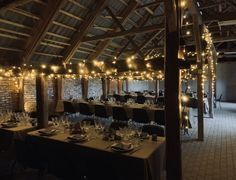 Barn wedding. This is where my husband and I got married last year.....loved the preparations, and the party.