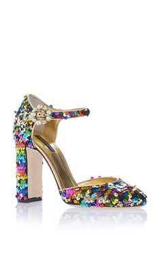 Sequin Pumps by DOLCE & GABBANA for Preorder on Moda Operandi