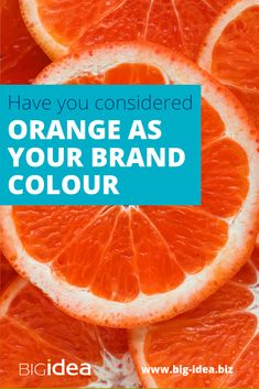 Could orange be your brand colour? Is it relevant and aligned to your brand value proposition, purpose, values and personality? Creating A Brand, Coaches, Brand Identity, Orange Color, Purpose, Personality, Colours, Marketing