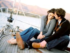 sailboat engagement pics. Absolutely!