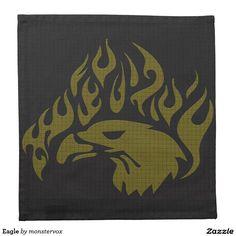 Eagle Cloth Napkin #Eagle #Bird #Animal #USA #America #Home #Decor #Napkin