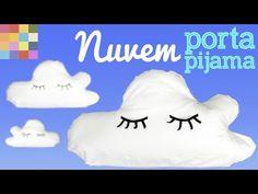 Tu Organizas: Almofada porta-pijama em forma de nuvem DIY