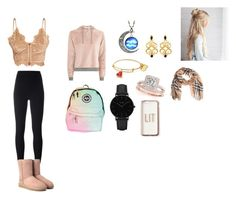 """Love📖💞💗"" by cece-griffin on Polyvore featuring Topshop, adidas Originals, UGG, CLUSE, Allurez, Missguided and Burberry"