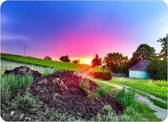 Sonnenuntergang im Markgräflerland – Sommer!