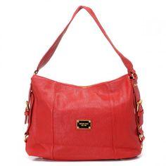 Michael Kors Shoulder Red Bag
