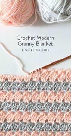 If you're ready to give crochet a try, we've got you covered. We've found 18 easy crochet stitches you can use for any project to get you started. Once you've learned a few basic stitches, you can tackle any simple crochet projects with ease. Crochet Stitches Patterns, Stitch Patterns, Knitting Patterns, Crochet Afghans, Crochet Blankets, Crochet Squares, Sewing Patterns, Crotchet Patterns Free, Baby Blanket Crochet