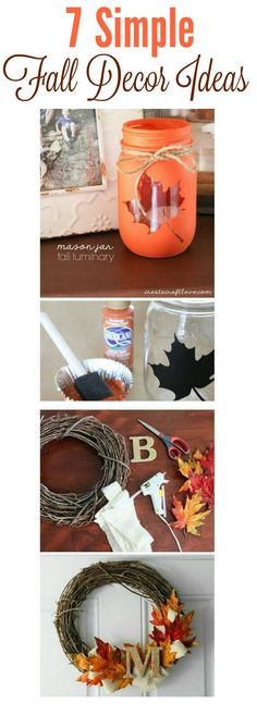 simple fall decor id