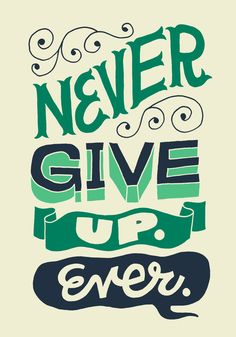 Never Give Up | Flickr – Condivisione di foto!