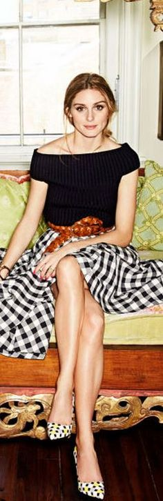 Olivia Palermo- Love this look for our Tuscan jaunt (minus the pumps).