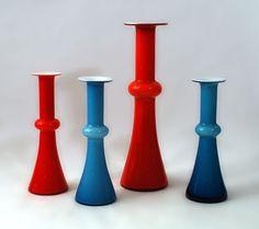 Freeforms- Holmegaard Glass, Denmark