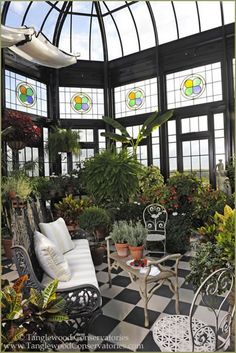 Antique Greenhouse - Old World Concept for the Custom Design - Tanglewood Conservatories | Tanglewood Conservatories