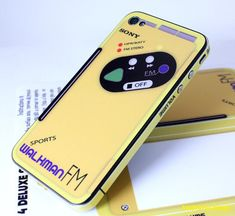 Sony Walkman iPhone Decal. Memories...