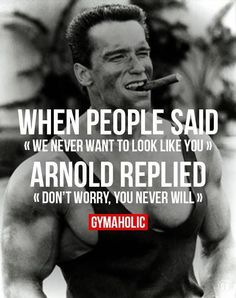 Is there such a thing as too much Arnold? Nope #Arnold meme