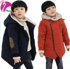 Casual Jackets Autumn Winter Kid's Fashion Cashmere Warm Hooded Coats TKBC029 #Unbranded #BasicJacket #Casual