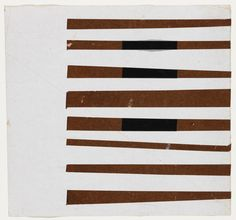 Black, Brown, White  - Ellsworth Kelly